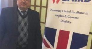 تدريسي من كلية طب الأسنان بجامعة الكوفة يشارك بالموديول الثالث للأكاديمية البرطانية