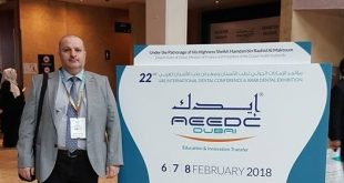 A lecturer from the Faculty of Dentistry at the University of Kufa Participates in the conference of Idec of Dentistry in the UAE